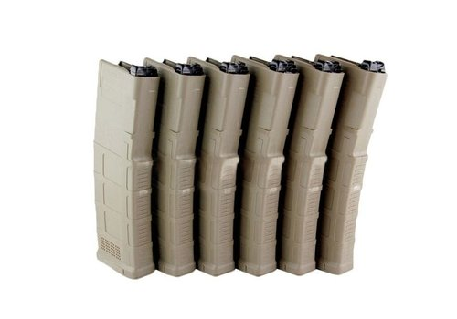 FCC - Fight Club Custom FCC X Rampo's Box of 6 Complete PMAG G3 for PTW - Tan