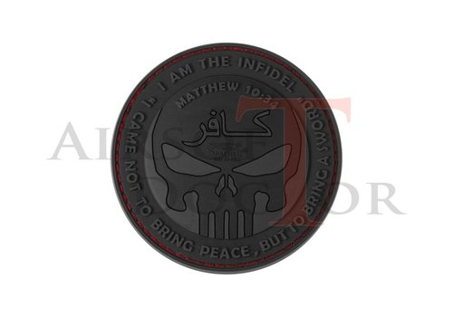 The Infidel Punisher Rubber Patch - Black