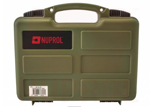 WEEU Nuprol Pistol Small Hard Case - OD