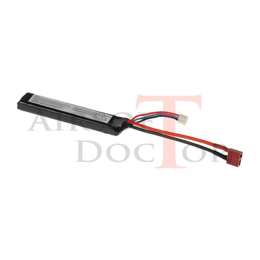 7.4V 1100mAh 20C Stock Tube Type  - T-Plug-2