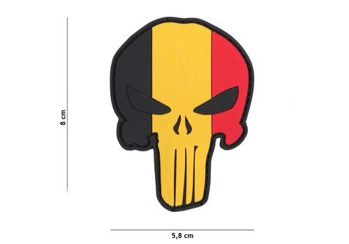 101Inc. Patch Punischer België - PVC