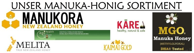 Manuka-Honig Sortiment