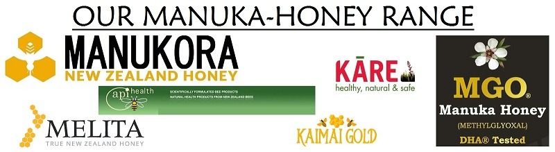 Manuka-Honey Range