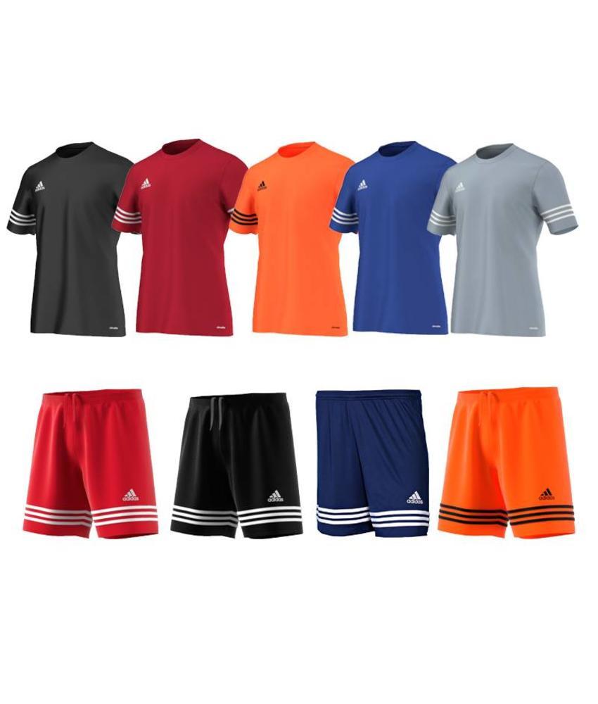 Adidas Entrada Trikotset Erwachsene (15 x Trikot und Hosen)