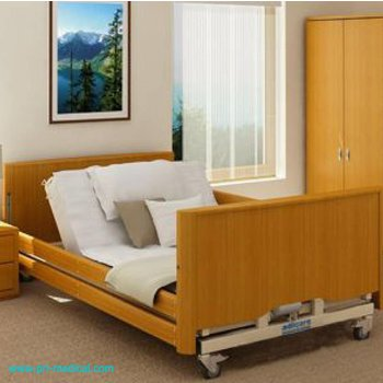Komfortabels Niederflur Pflegebett für schwergewichtige Menschen für eine sichere Arbeitslast von 350kg