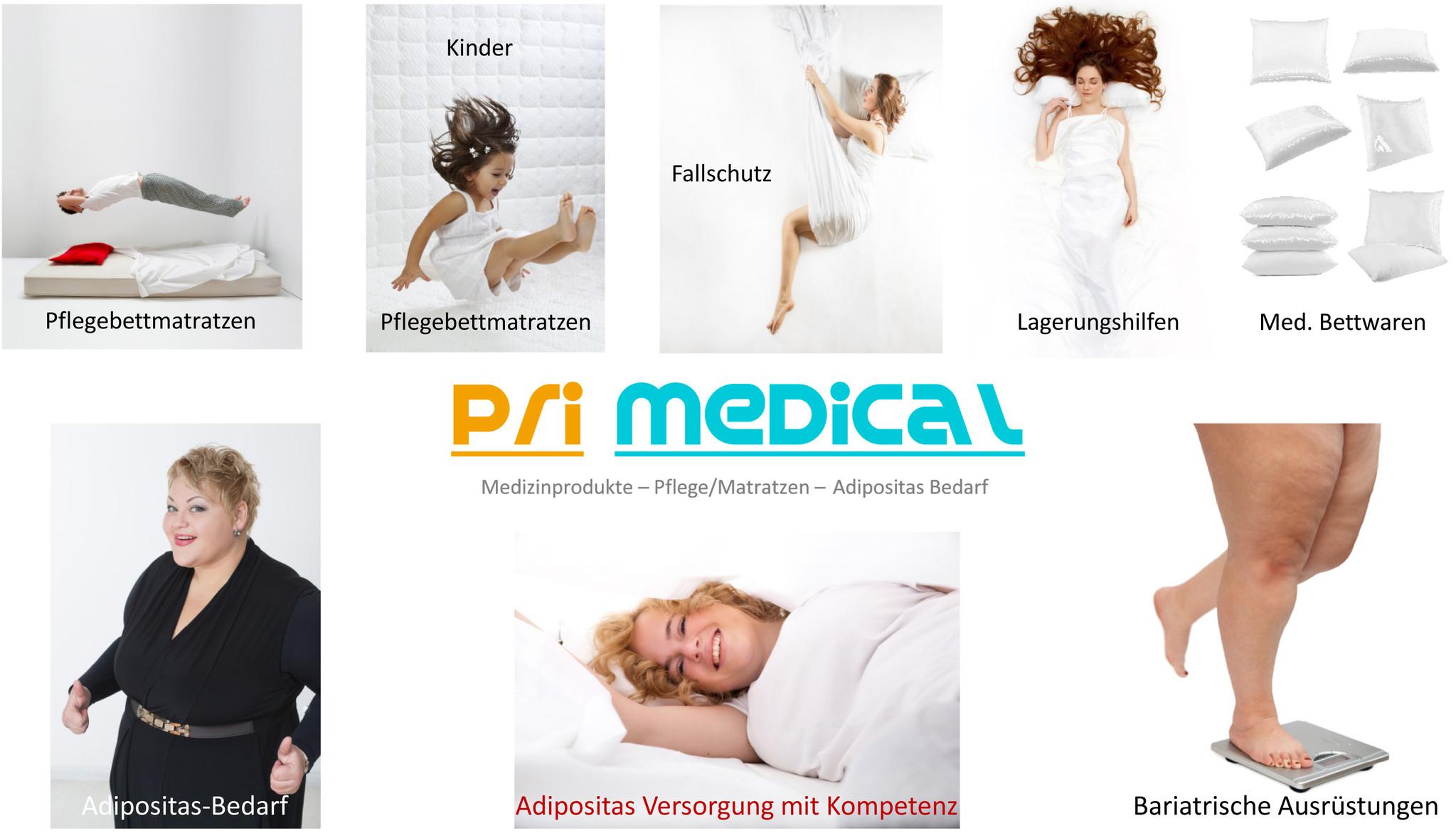 pri-medical Produktwelt