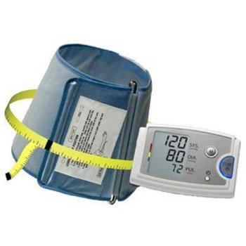 Vollautomatisches Blutdruckmessgerät mit konischer Manschette für einen Oberarmumfang von 42-60cm
