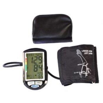 Vollautomatisches Blutdruckmessgerät inklusive extragroßer Manschette für einen Oberarmumfang 42-48cm