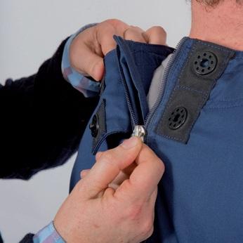 Reißfeste Kleidung schenkt Schutz und Geborgenheit