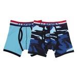 Claesen's Boxer Boys 2-pack Blue/Army