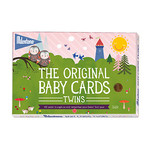 Milestone Baby Cards Twins
