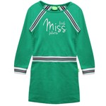 Little Miss Juliette Sweat Jurk Groen