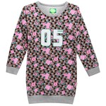Little Miss Juliette Sweat Jurk Bloemen