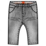Beebielove Sweat Jeans Grijs