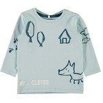 Name IT Shirt Dilan Blauw