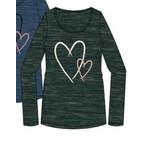 Mamalicious Shirt Heartie Groen