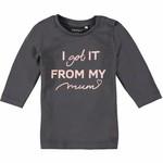 Name IT Shirt Disma Asphalt