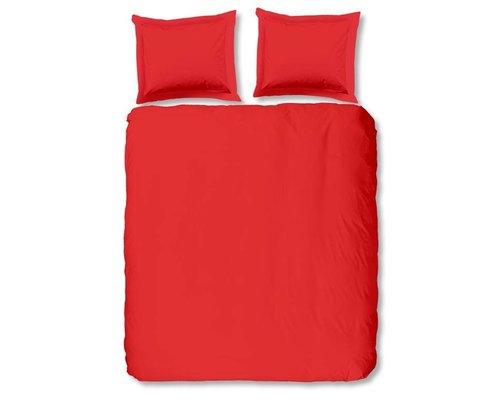 Rood dekbedovertrek