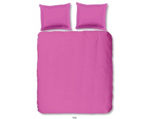 Roze dekbedovertrek