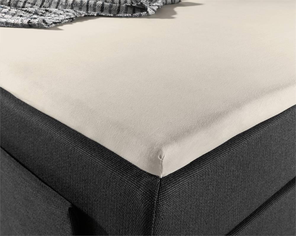 homecare topper hoeslaken jersey 160 x 200 220 hipdekbedovertrek. Black Bedroom Furniture Sets. Home Design Ideas
