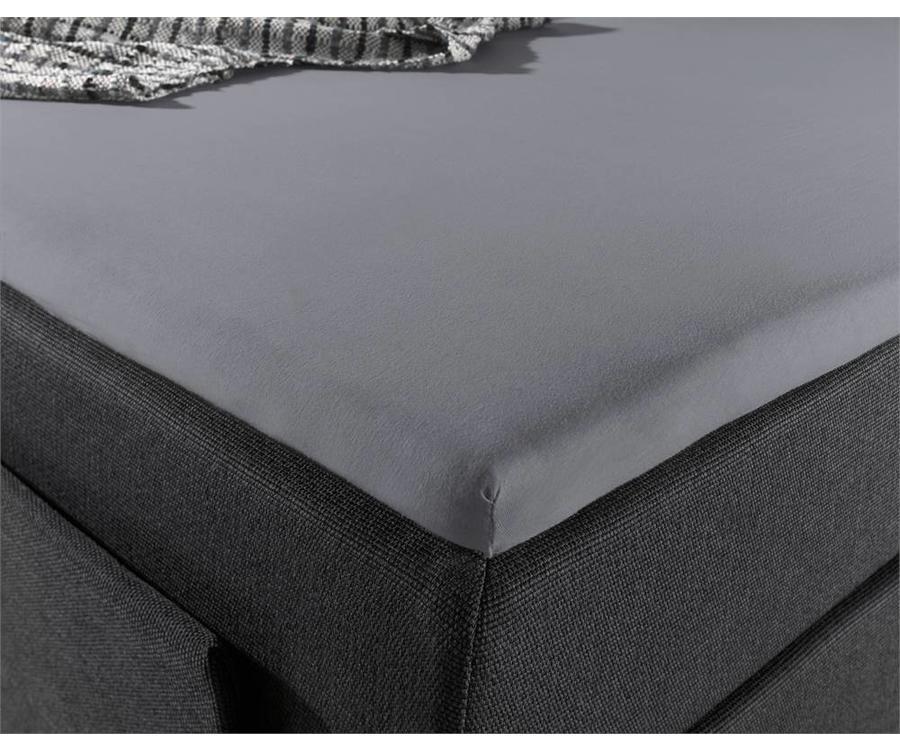 homecare topper hoeslaken jersey 180 x 200 220 hipdekbedovertrek. Black Bedroom Furniture Sets. Home Design Ideas