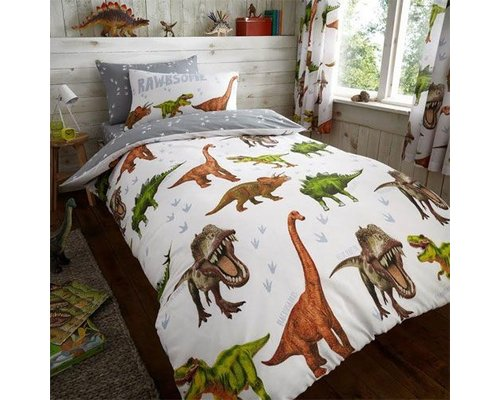 Decoware Dekbedovertrek Dinosaurus
