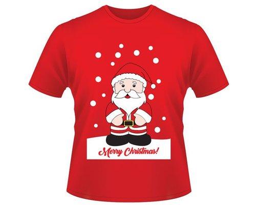 Kerst T-shirt Kerstman