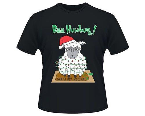 Kerst T-shirt Schaap
