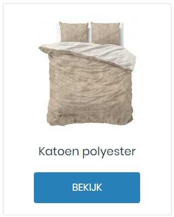 Katoen polyester dekbedovertrek kopen
