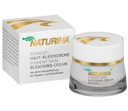 Naturina® Pigment Bleaching cream 50 ml for Skin Made in Germany