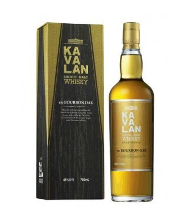 Kavalan Ex Bourbon Oak 46%