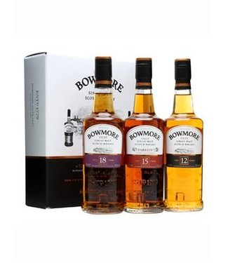 Bowmore Collection 12, 15 and 18 Years Old