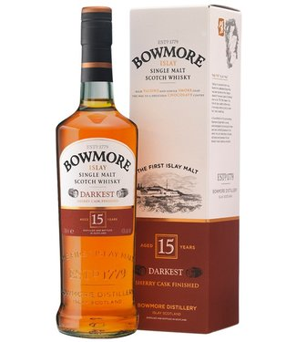 Bowmore 15 Years Old Darkest