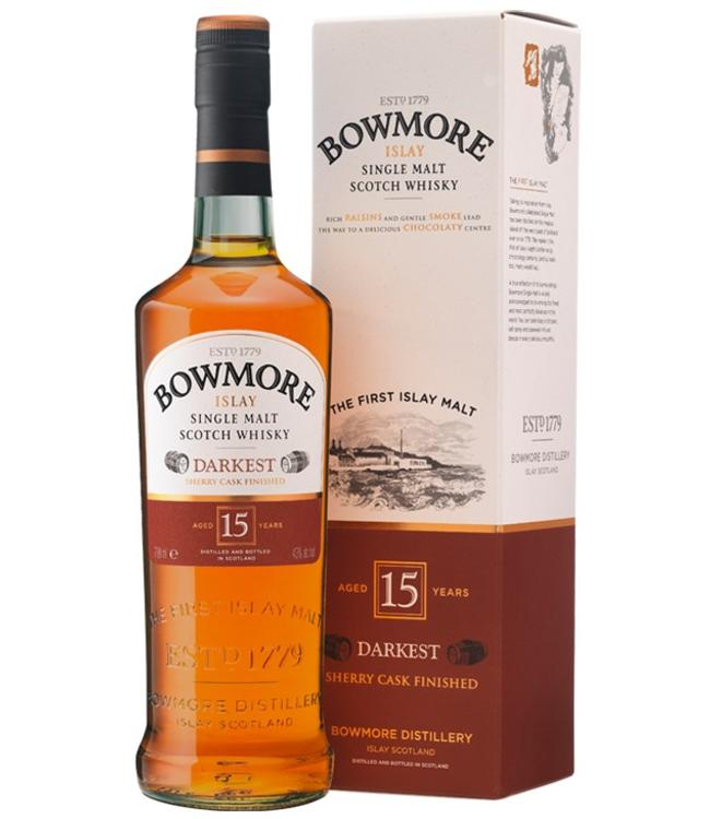 Bowmore 15 Years Old Darkest
