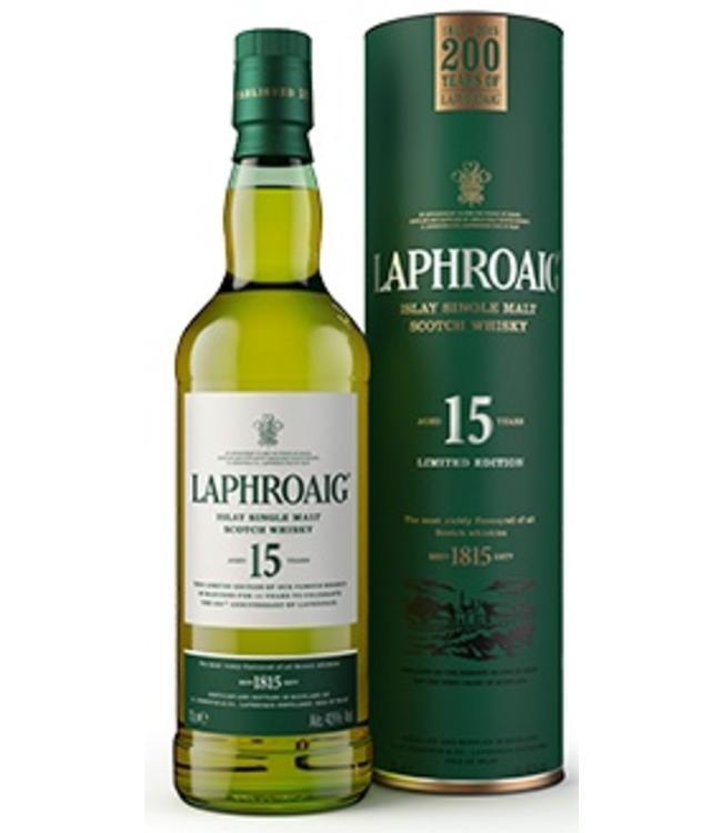 Laphroaig 15 Years Old 200th Anniversary of Laphroaig
