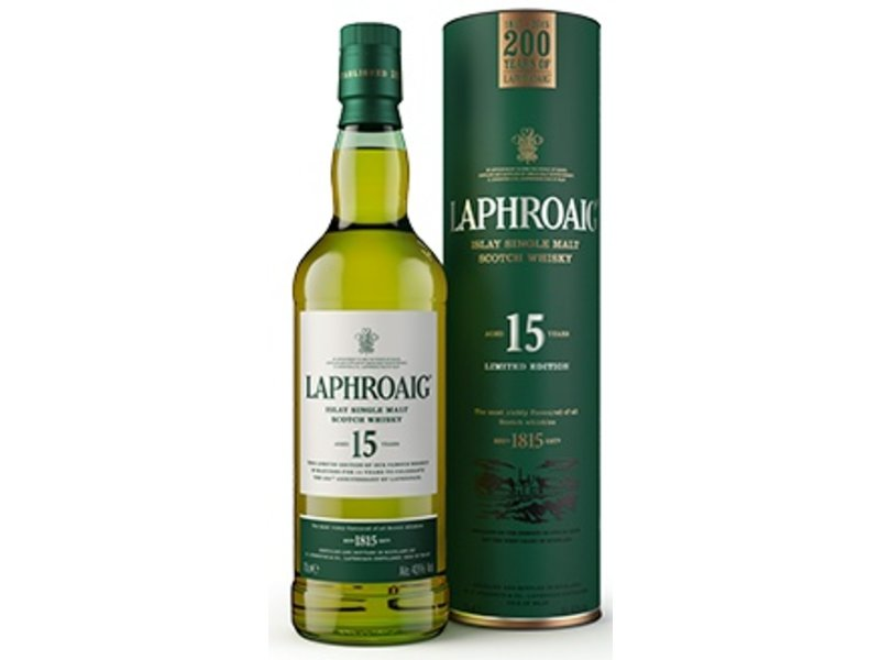 Laphroaig 15 Years Old 200th Anniversary of Laphroaig