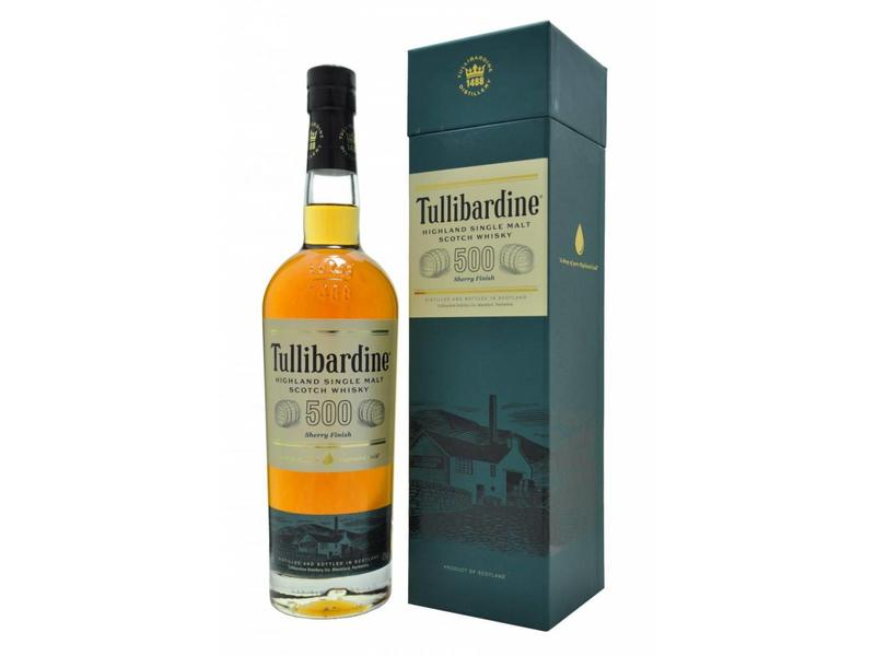 500 Tullibardine Sherry Finish