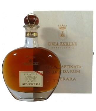 Grappa Dellavalle Affinata Rum