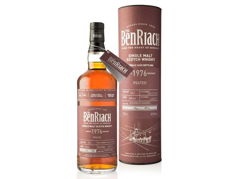 Benriach 38 Years Old 1976 Cask 541