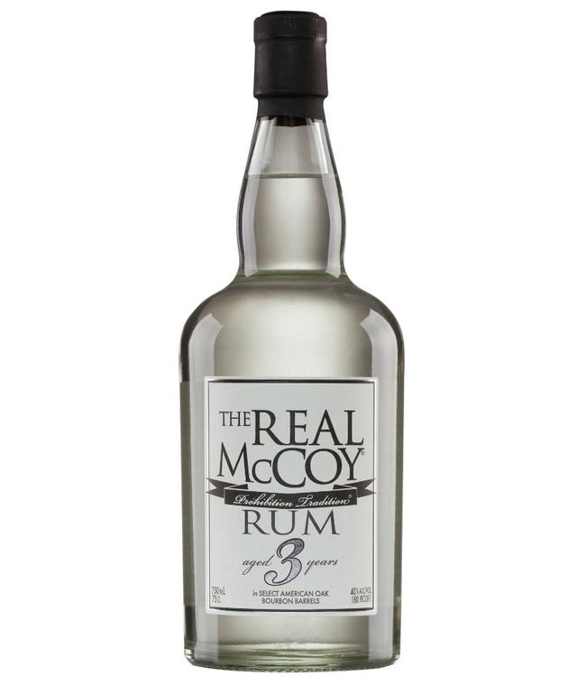 The Real McCoy 3 Years Old Silver Rum