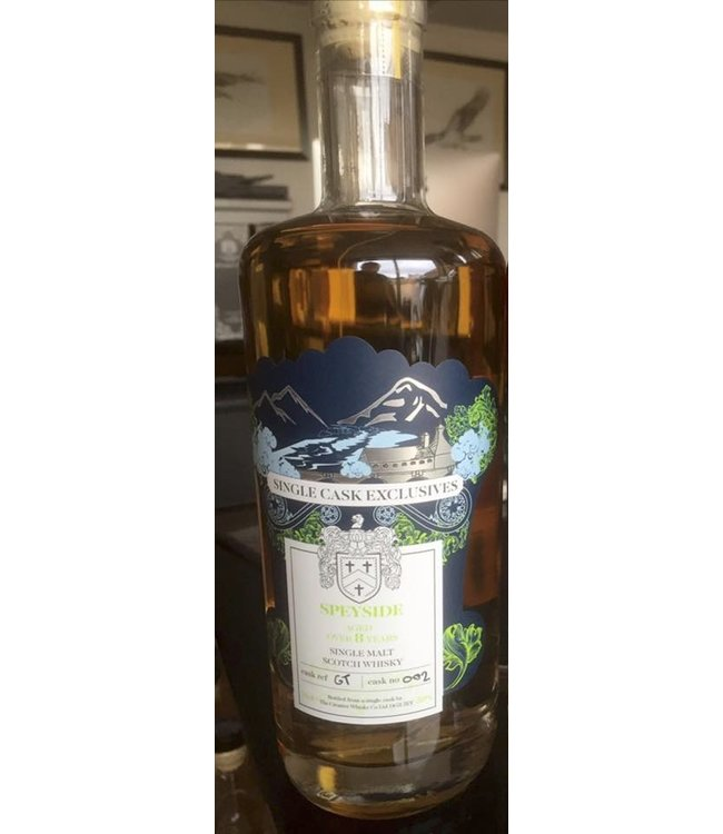 Single Cask Exclusives Speyside GT002 8 Years Old