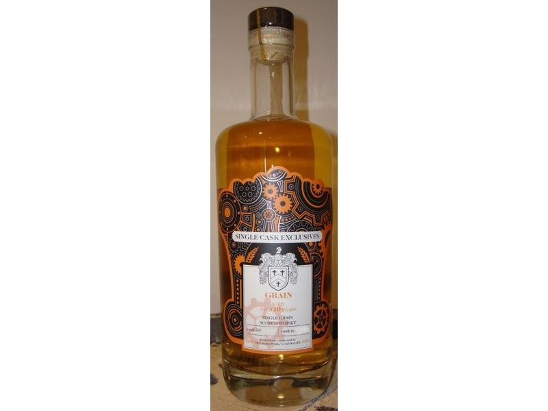Single Cask Exclusives Grain GV002 10 Years Old