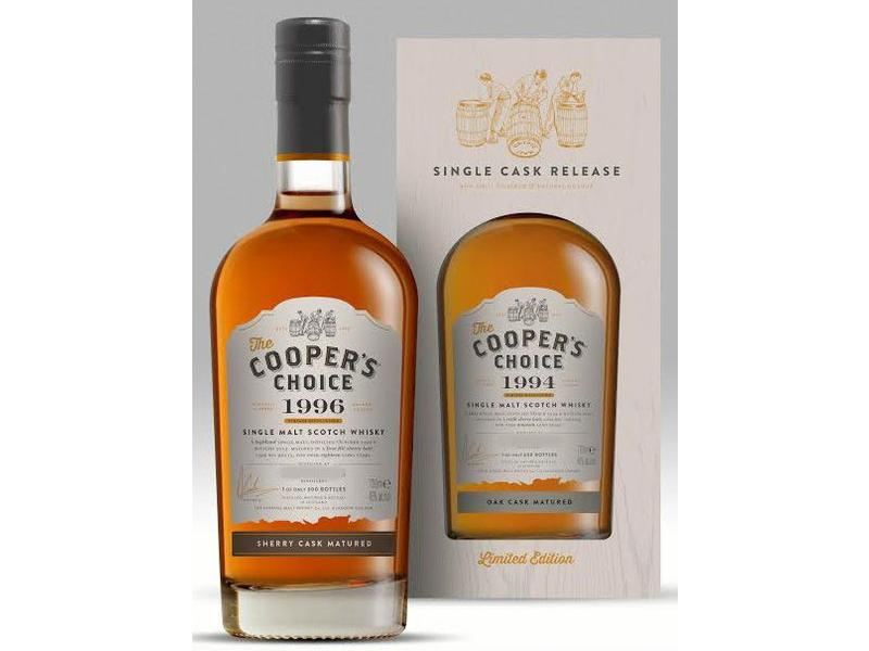 Invergordon 42 Years Old 1972 Cooper's Choice