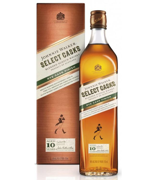 Johnnie Walker 10 Years Old Rye Cask