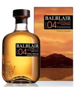 Balblair 2004 Liter Bottled 2016 Bourbon Cask