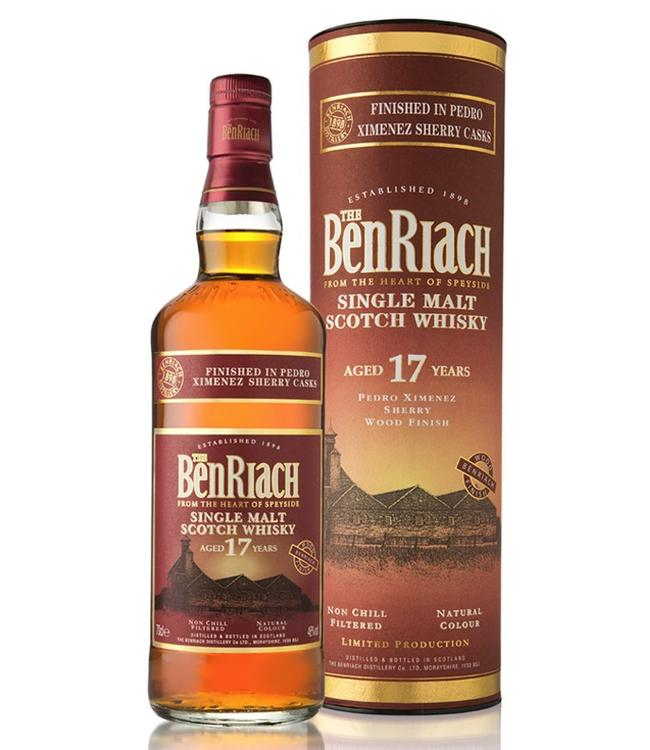 Benriach 17 Years Old PX Sherry Wood Finish