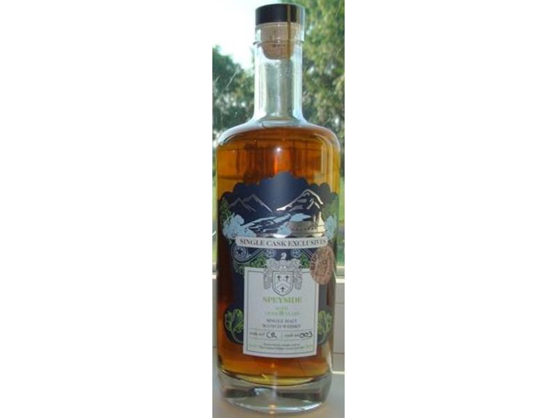 Single Cask Exclusives Speyside CR003 8 Years Old