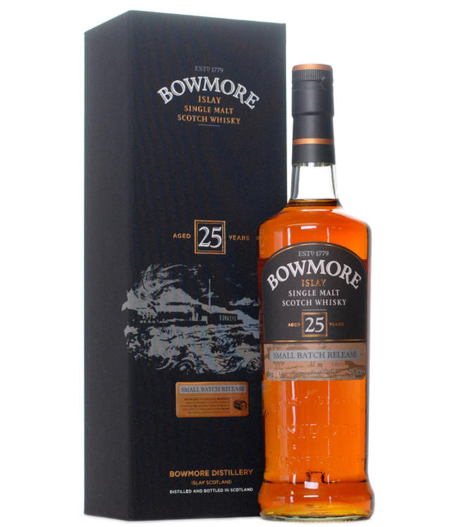 Bowmore 25 Years Old Small Batch Release