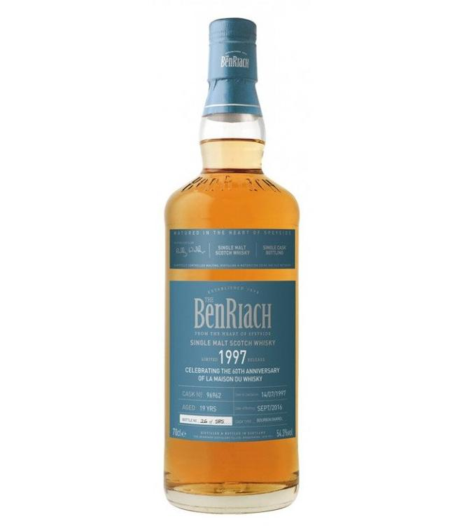 Benriach 19 Years Old 1997 Cask 96962 LMDW