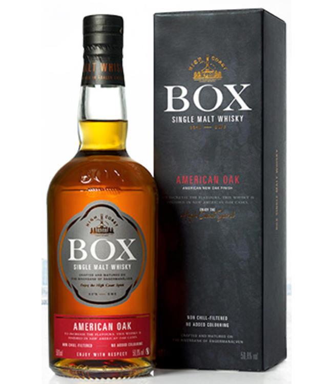 Box Virgin America Oak